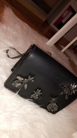 Schwarze Tasche von Zara