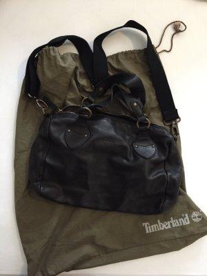 Schwarze Timberland Leder-Handtasche