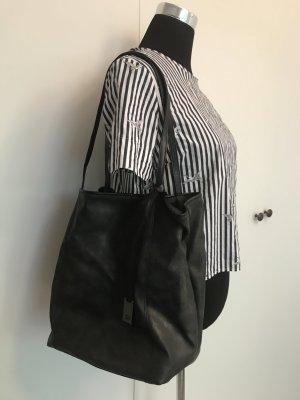 Schwarze Tom Tailor Tasche used look
