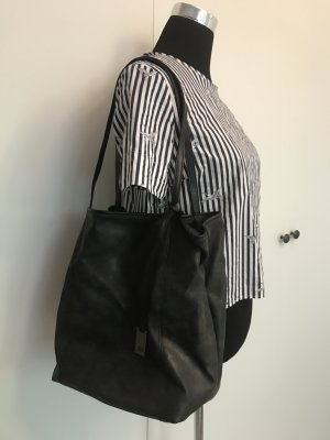Schwarze Tom Tailor Tasche used look