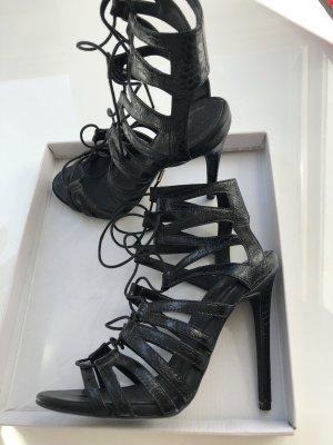 Schwarze Topshop Sandalen