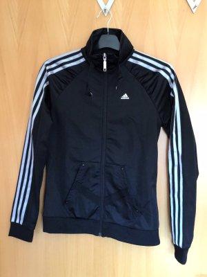 Schwarze Trainingsjacke der Marke Adidas