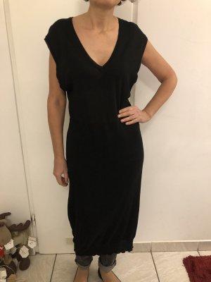 Schwarze transparent Weste Kleid