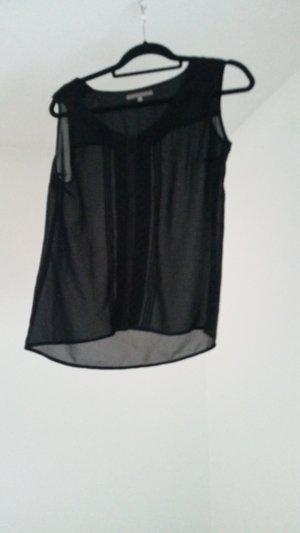 schwarze Transparentbluse von mint&berry
