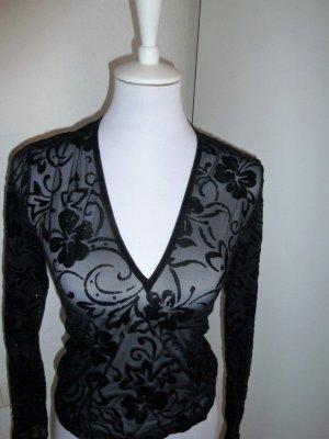 Mesh Shirt black polyester
