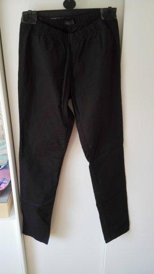 Schwarze Treggings Jeggings mit Gummizug von Vero Moda Größe 38 M