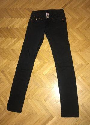 Schwarze True Religion Jeans