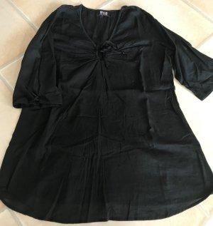 Tunique-blouse noir coton