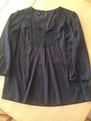 Schwarze Tunikabluse von Maison Scotch