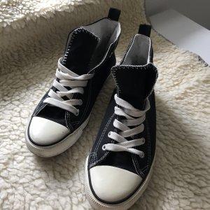 Atmosphere Sneaker stringata nero-bianco