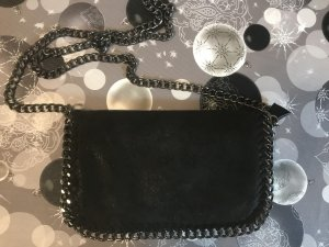 Schwarze Umhänge Tasche