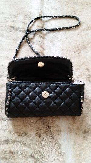 Schwarze Umhängetasche, kleine Tasche