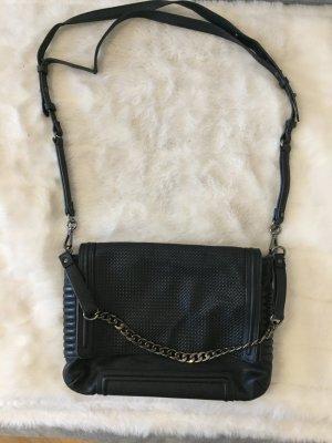 Zara Sac porté épaule noir faux cuir
