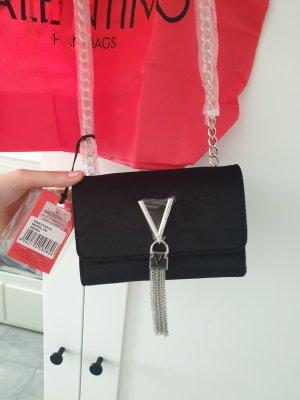Schwarze Valentino Samt Tasche