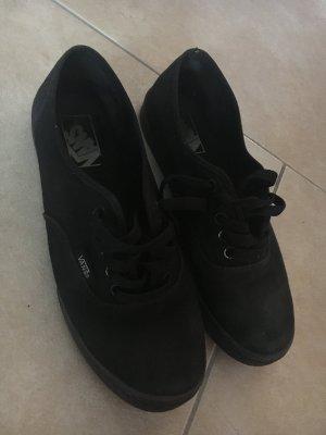Schwarze Vans