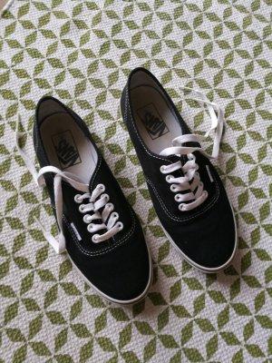 Schwarze Vans (Größe 38,5)