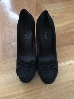 Vera Pelle Tacones de plataforma negro