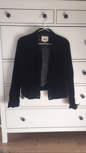 Schwarze velvet Jacke