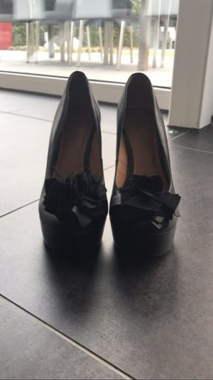 Schwarze Via Uno High Heels