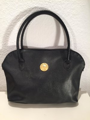 Schwarze Vintage Handtasche Pierre Balmain Paris