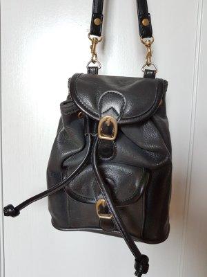 schwarze Vintage Tasche