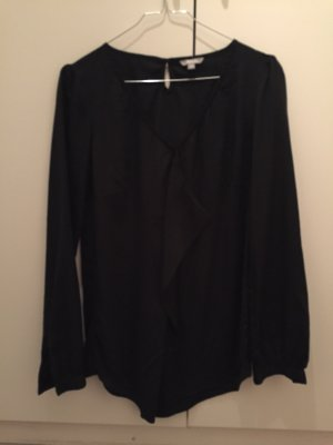 3 Suisses Ruffled Blouse black