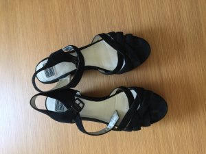 Lacoste Wedge Sandals black