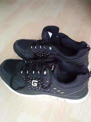 schwarze - weiße Sneakers von Graceland 40