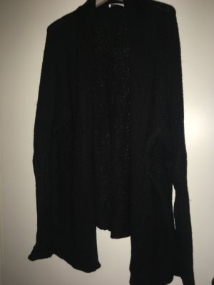 Hugenberg Gebreid vest zwart