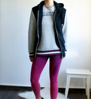 H&M Smanicato con cappuccio nero Cotone