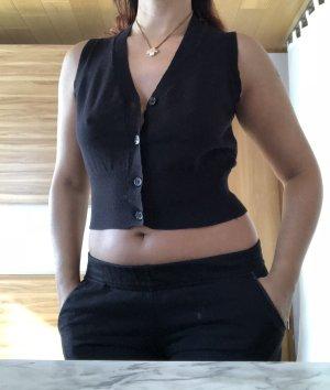 Clockhouse Knitted Vest black