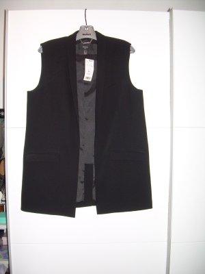 Mango Waistcoat black