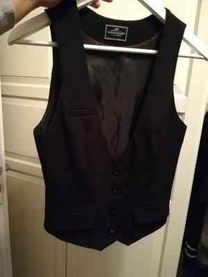 Clockhouse Gilet de costume noir