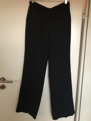 Schwarze Wide leg Hose