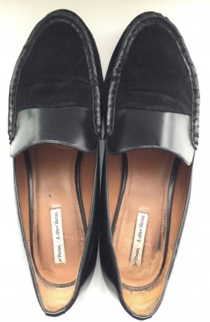 & other stories Scarpa slip-on nero Scamosciato