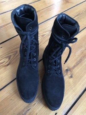 Tod's Lace-up Boots black suede