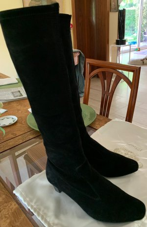 Peter Kaiser Heel Boots black suede
