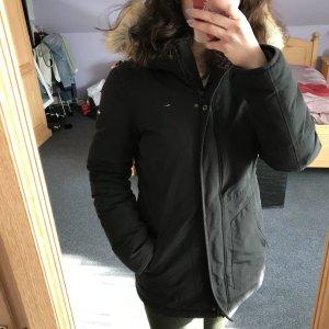 Tommy Hilfiger Chaqueta de invierno negro-marrón