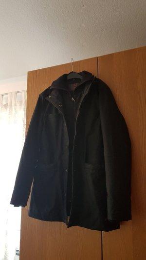 Schwarze Winterjacke von Street One