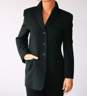 Schwarze Woll-Blazer Gr.34