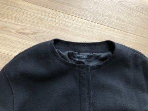 Marc O'Polo Giacca di lana nero Tessuto misto