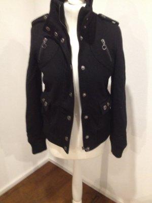 Schwarze Wolljacke Zara Gr. M