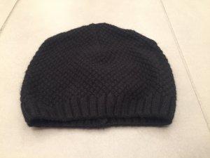 Schwarze Wollmütze von Calvin Klein
