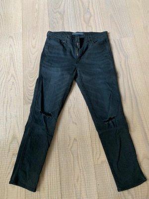 Schwarze Wrangler Jeans