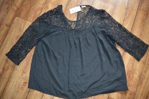 Schwarze wunderschöne Neue Bluse von Pimkie Gr. L