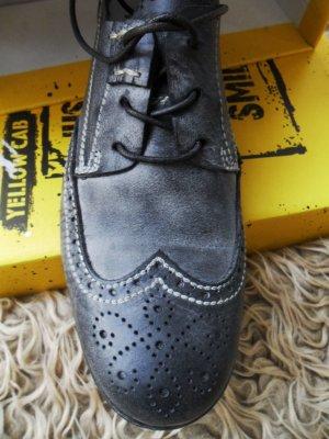 schwarze Yellow cab Schnürschuhe, Gr. 40