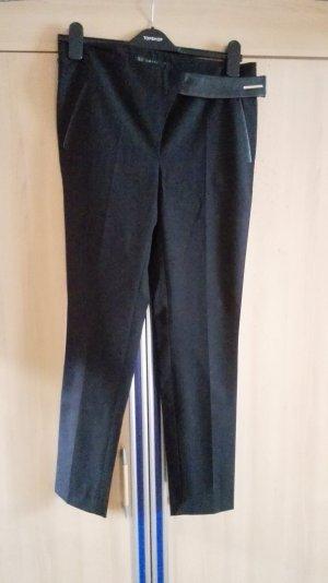 Zara Pantalone chino nero-argento