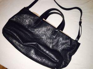 Schwarze Zara Handtasche