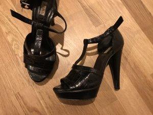 Schwarze Zara High Heels guter Zustand Größe 38