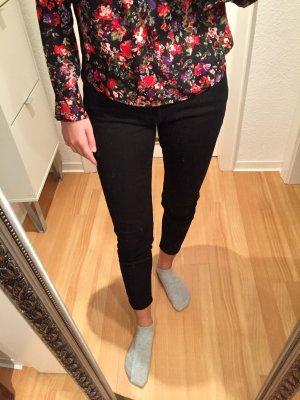 schwarze ZARA Jeans